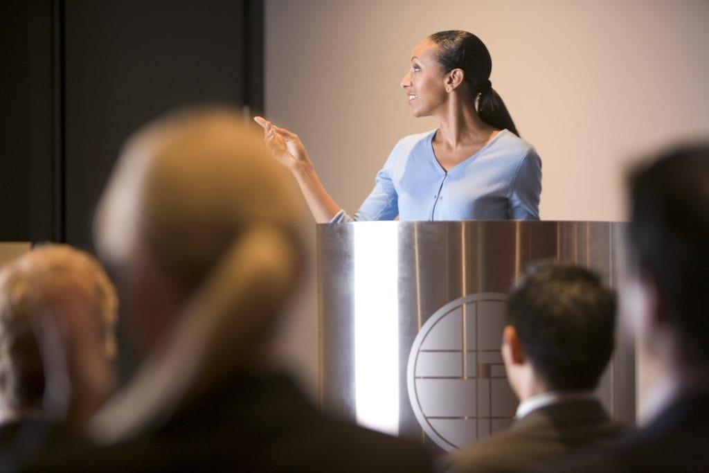 establish ethos in a speech